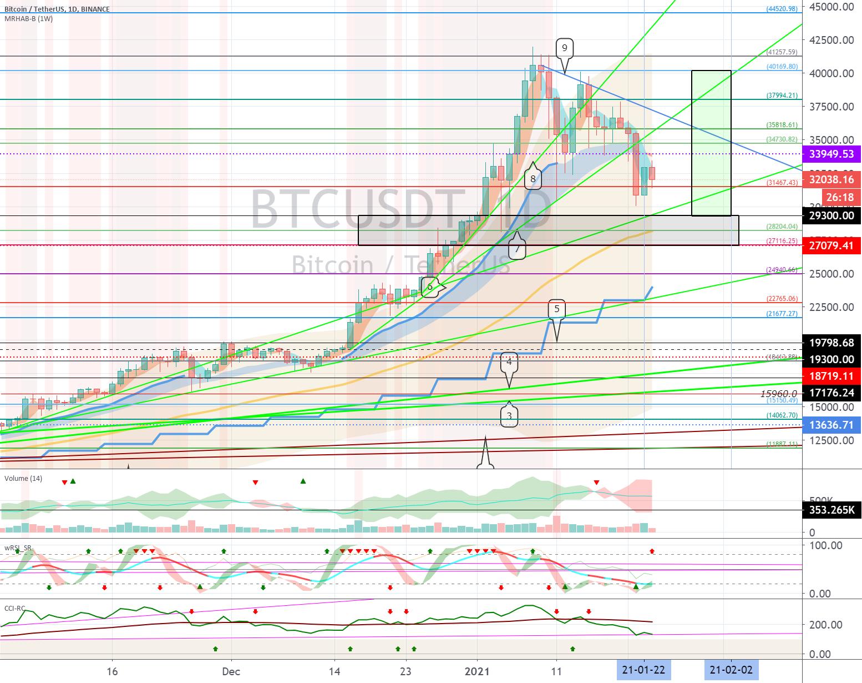 Bitcoin (BTC) - January 24 (Volability period until January 24)