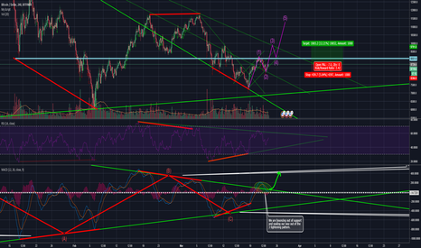 BTCUSD: MACD finally out of its tightening pattern