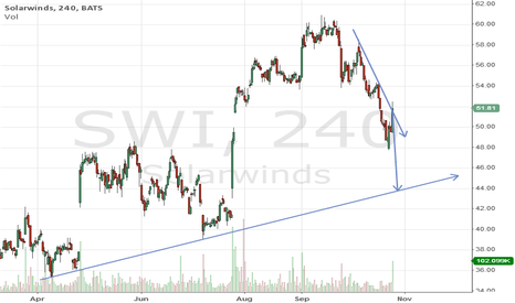 SWI: $SWI support at $44 after earnings