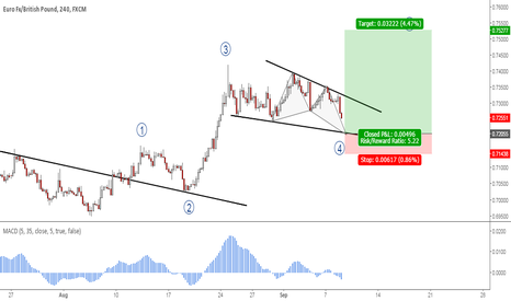 EURGBP: EURGBP: Potential Bullish Butterfly Pattern
