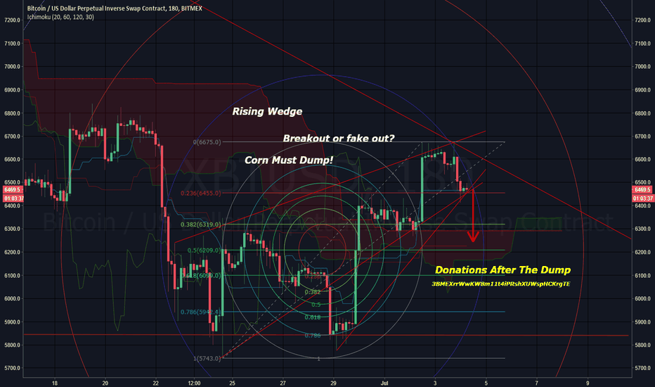XBTUSD: Bitcoin going to dump!