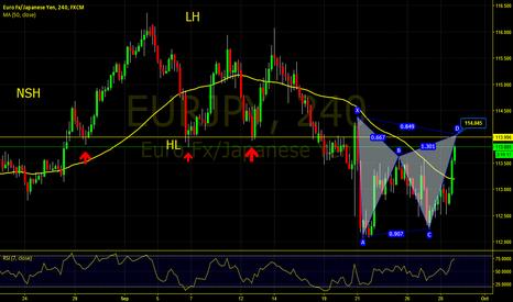 EURJPY: Euro/JPY Gartley
