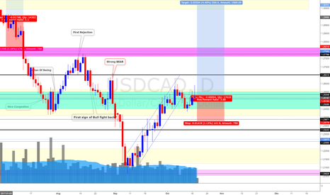 USDCAD: USD/CAD (18/10/17) *Nothing special, it is just +300 pips setup