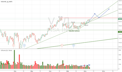 V: VISA INC long investment