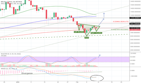 BTCUSDT: Bitcoin: The end of the correction?! Head and Shoulders Pattern!