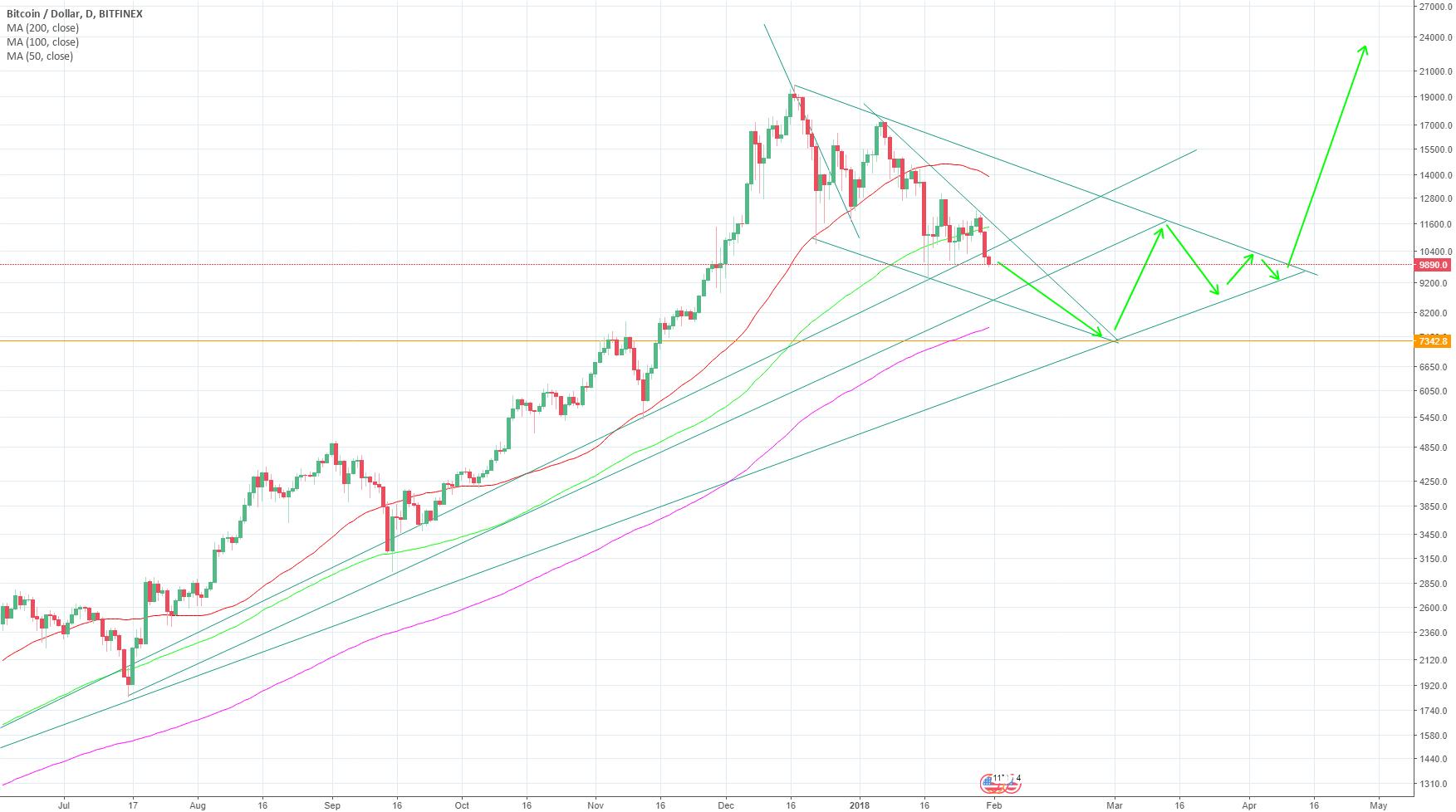 BTC price drop to 6,5-7,5k in SHORT TERM!