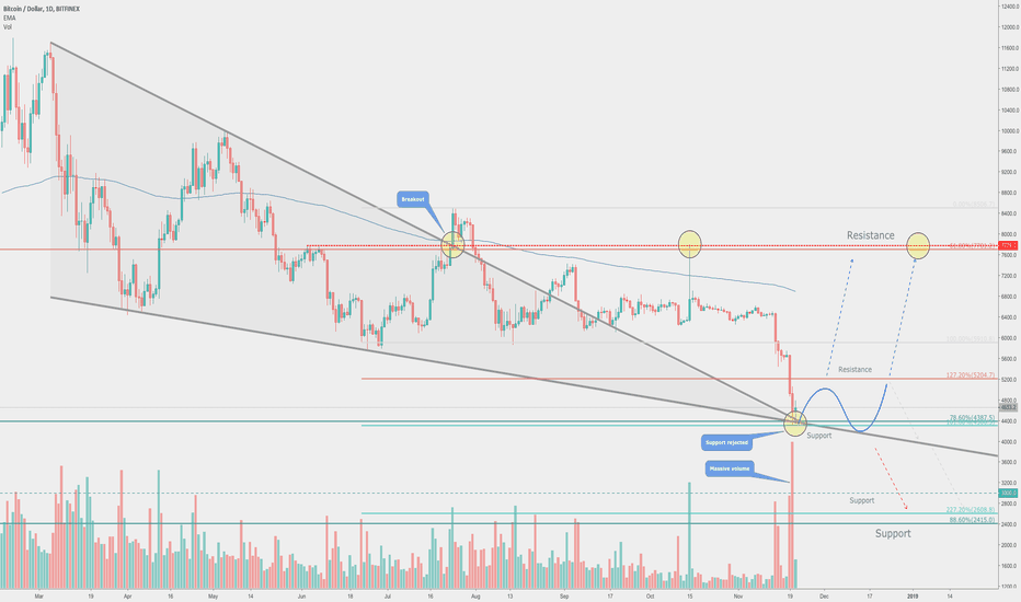 BTCUSD: Market Panic is a BUY signal?