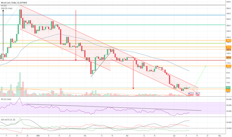 BCHUSD: BTC on strong support