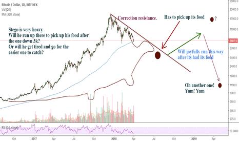 BTCUSD: Bitcoin. Rare stegosaurus pattern spotted!