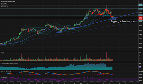 BTCUSD: Is Bitcoin it going back to $6000 or even $5000 ?