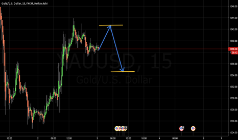 XAUUSD: I WAIT A LONG AND A GOOD SHORT