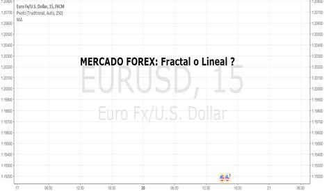 EURUSD: Curso Parte 1: Mercado Forex: Fractal o Lineal?