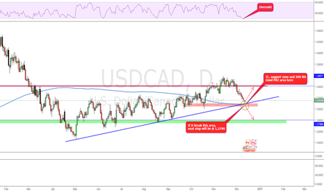 USDCAD: Action point reached!