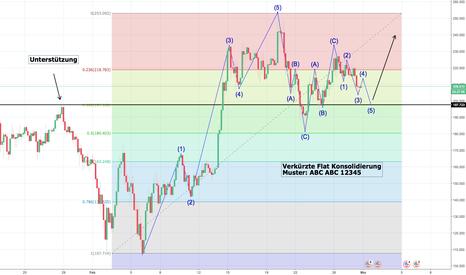 LTCUSD: LTC/USD Elliot Wave Konsolidierung