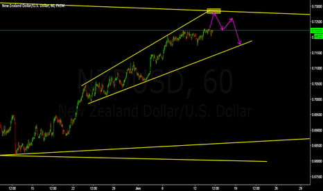 NZDUSD: price close to our sell area
