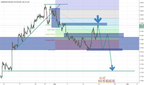 CADUSD: CAD/USD - Momentous Decision I think!