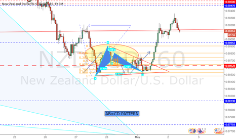 NZDUSD: Successful bat nzdusd