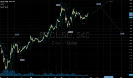 BTCUSD: Wave 2, Wave 5, or other?