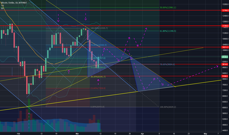 BTCUSD: BTC ready to go up? Or need to test support again?