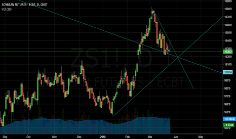 ZS1!: short  soybeans