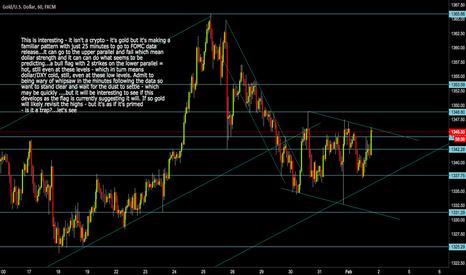 XAUUSD: Gold XAUUSD  Bull Flag ahead of FOMC data