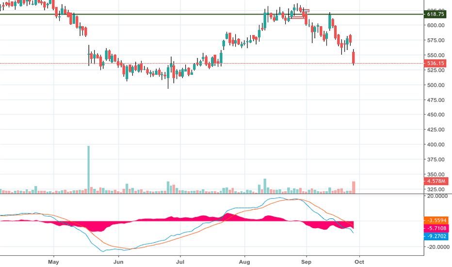 VOLTAS: Might test 530 levels before reversal