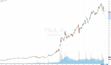 TSLA: Bearish Price Channel (speculation)