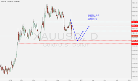 XAUUSD: Gold wiil long