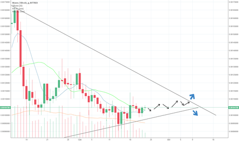 WAVESBTC: waves up or down?