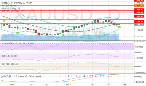 XAUUSD: Gold for next week