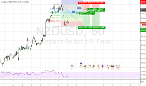 NZDUSD: NzdUsd Double Top Short Time Frame