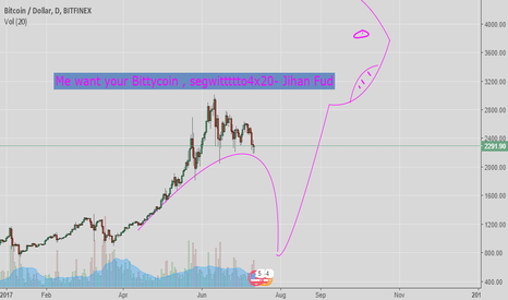 BTCUSD: Theory about eating mushrooms and how segwitWu might affect btc