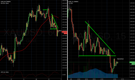 XAUUSD: Shorted Gold