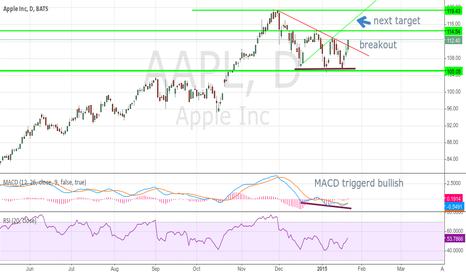 AAPL: $AAPL reach 1.target update/nextr targets chart