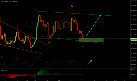 USDMXN: USDMXN 4hr Long Setup