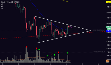 BTCUSD: [BTC] Bullish Signs in Bearish Continuation Pattern?