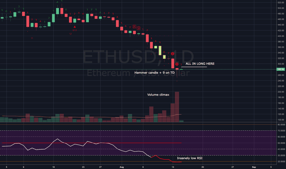 ETHUSD: ETHUSD: All in long opportunity