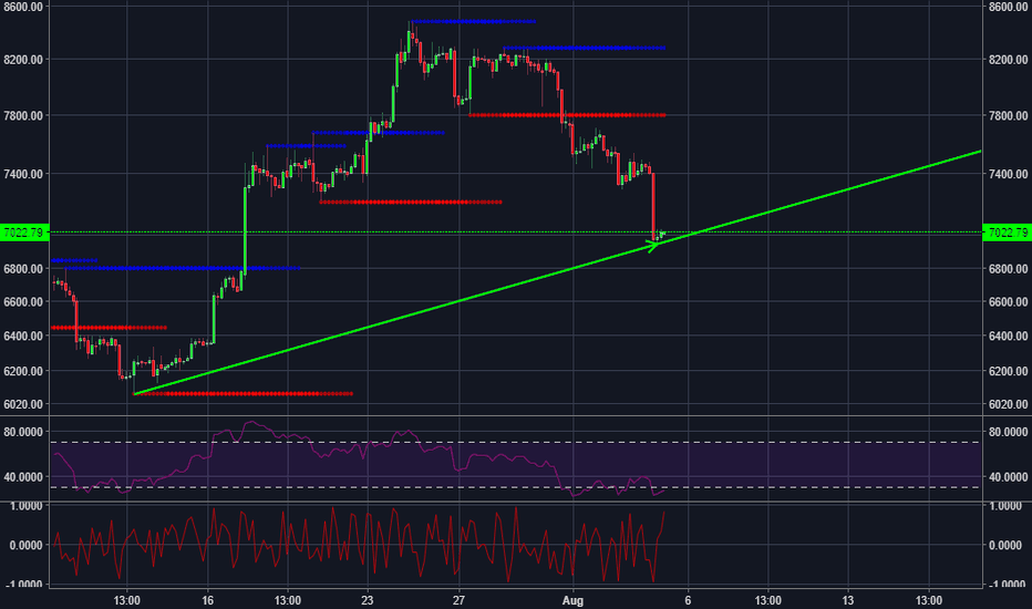 BTCUSD: New bull run for bitcoin?