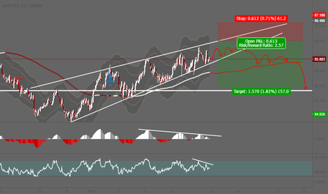 AUDJPY: AUDJPY will fall!