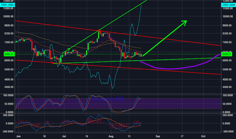 BTCUSD: Short squeeze could send price to $9,500