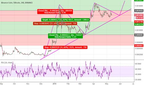 BNBBTC: BNB upcoming price chart