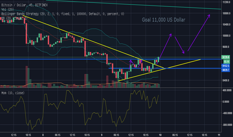 BTCUSD: BTC/USD Long-Position to 11k