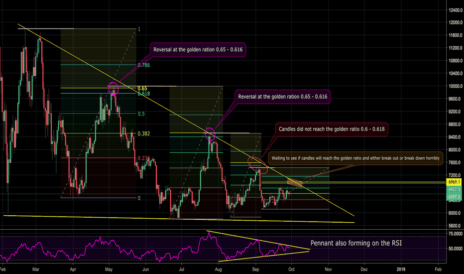 BTCUSD: BTCUSD -  The Pattern That Will Determine a Bull or Bear Run