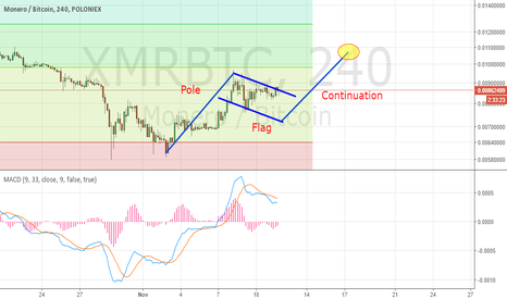 XMRBTC: XMR bull flags