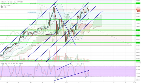 BTCUSD: BTS shows doulbe top pattern