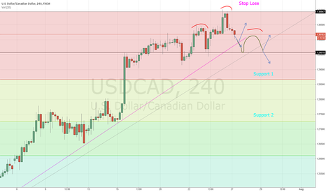 USDCAD: USDCAD H4 Reversal