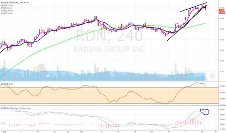 RDN: $RDN slide into earnings