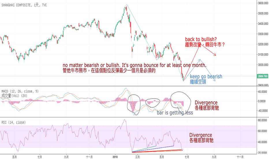SHCOMP: 中國股市中型級別反彈將來