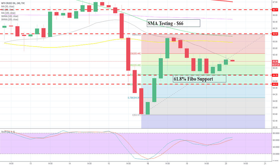 USOIL: A Good Day To Trade WTI Crude Oil - EIA Report & OPEC Meeting Up