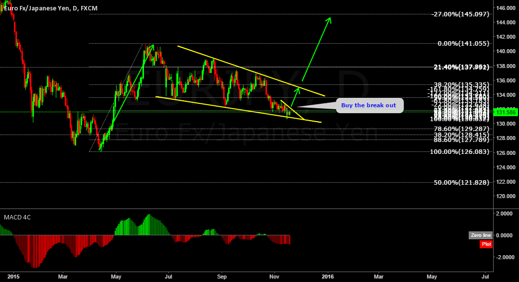 EURJPY long term buy setup